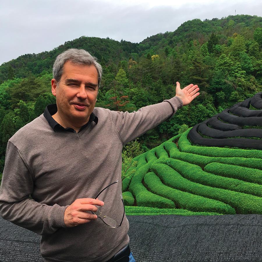 François décide de se consacrer au thé bio