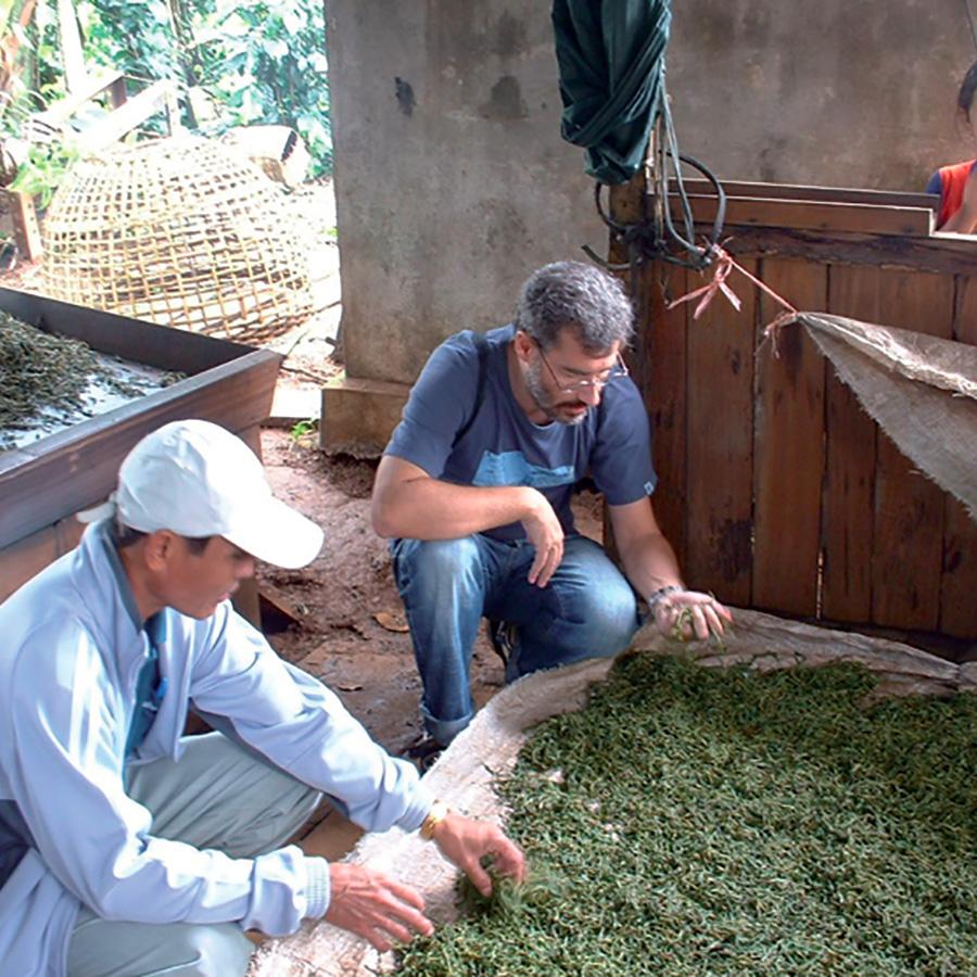 François part à la rencontre des producteurs du Laos