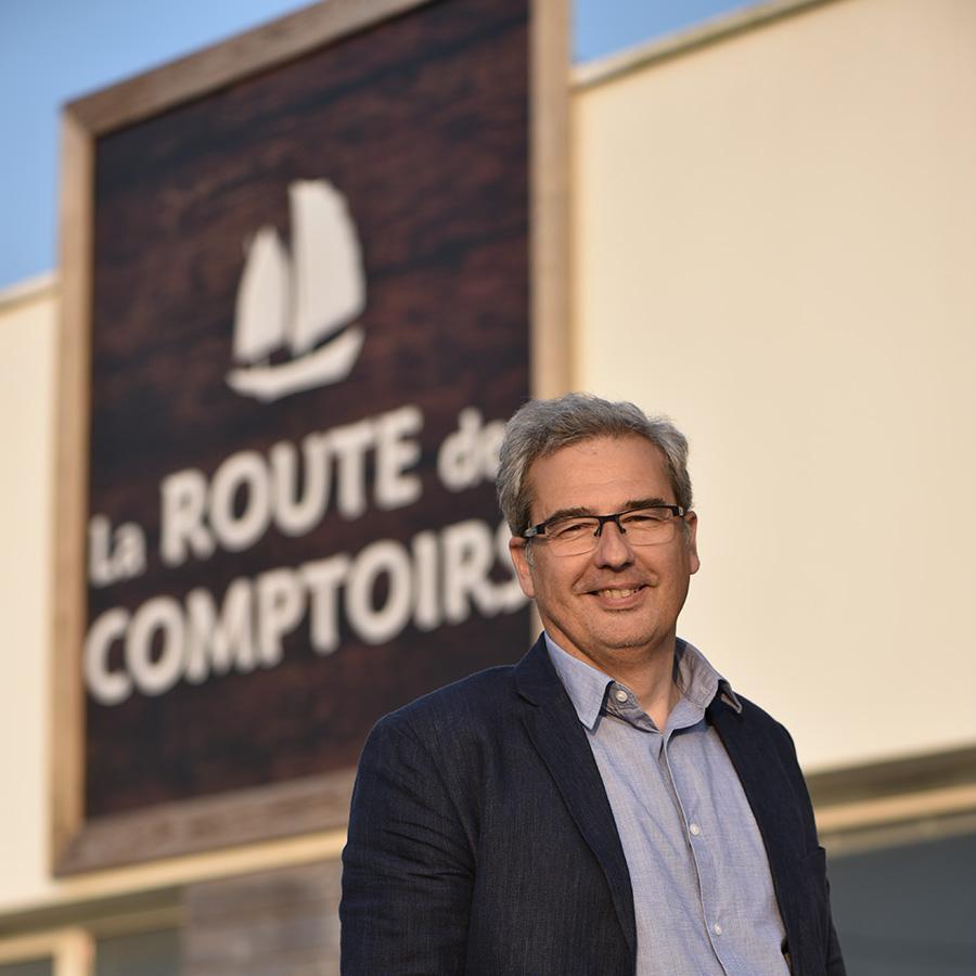 François fonde La Route des Comptoirs en 1997