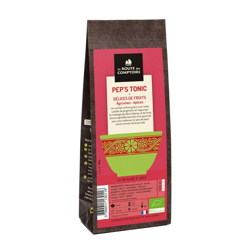 Délice de fruits PEP'S TONIC par LA route des comptoirs