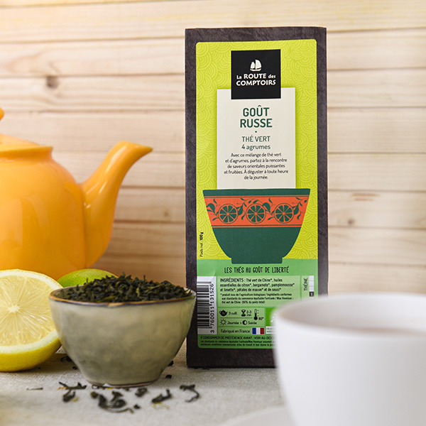 Le thé best-seller d'août de La Route des Comptoirs
