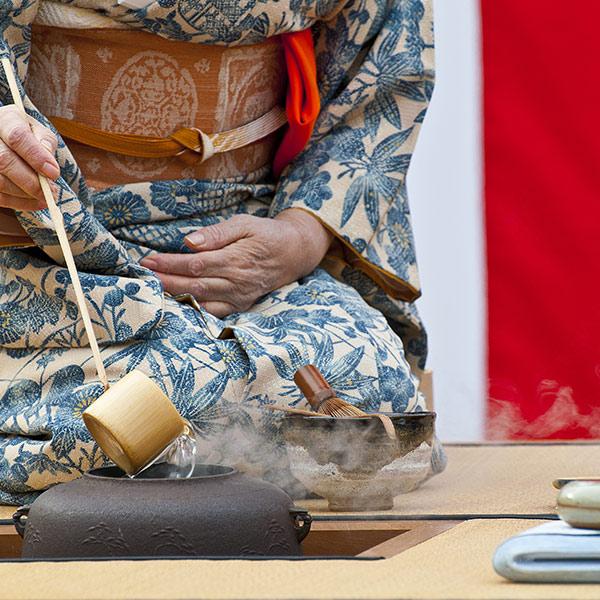 La cérémonie du thé au japon