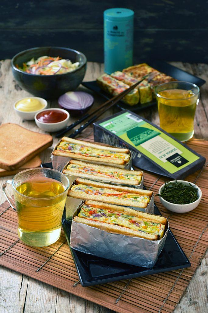 Sandwich au chou coréen…