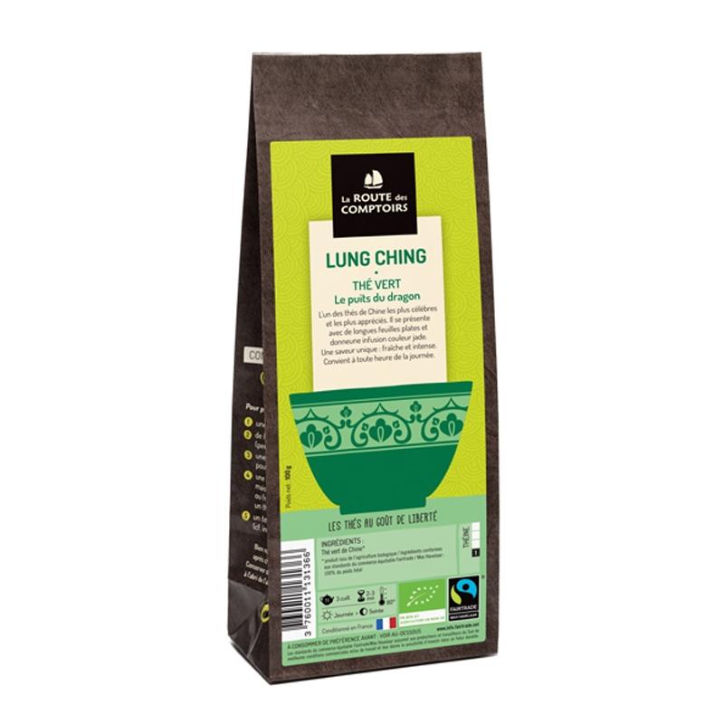 thé vert LUNG CHING Par La route des comptoirs