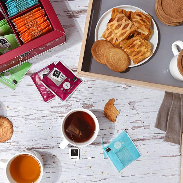 la consommation e thé, un moment convivial