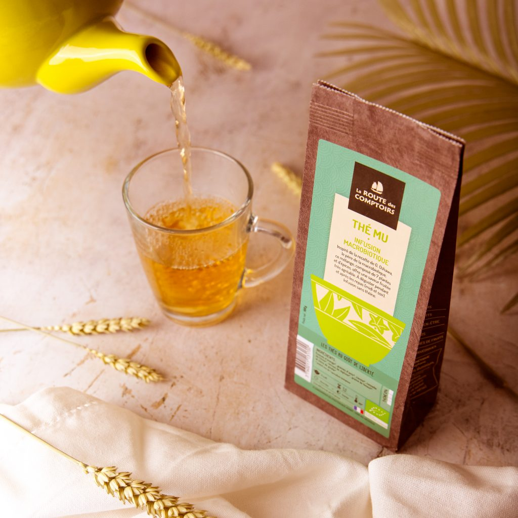 Le best-seller d'avril : le thé MU